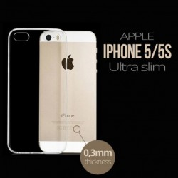 Ultra Slim Transparent Phone Cover for iPhone 5 / 5s / 5se