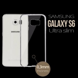 Ultra Slim Transparent Phone Cover for Samsung Galaxy S6