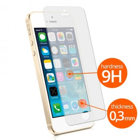 Tempered Glass Screen Protector for iPhone 5 / 5s / 5se