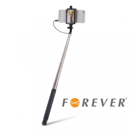 Selfie Stick with Telescopic Arm and Mirror