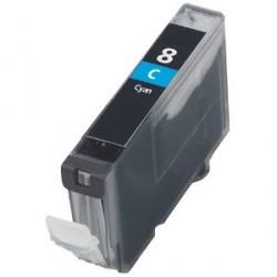 Non-OEM Cyan Ink Cartridge for CANON CLI-8C