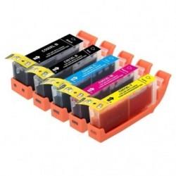 Full Colour Set of Non-OEM Ink Cartridges for CANON PGI-550/CLI-551