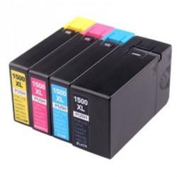 Full Colour Set of Non-OEM Ink Cartridges for CANON PGI-1500