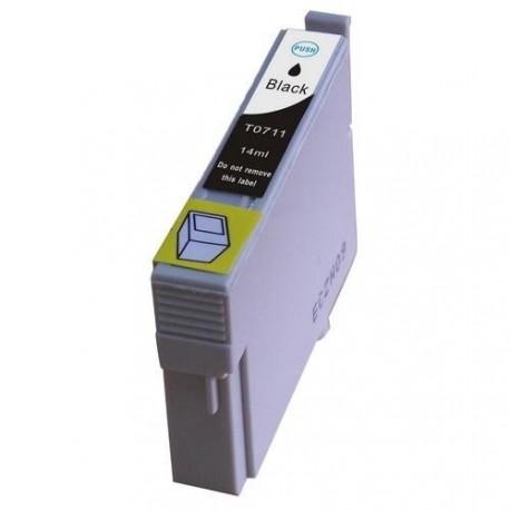 Non-OEM Black Ink Cartridge for EPSON T0711