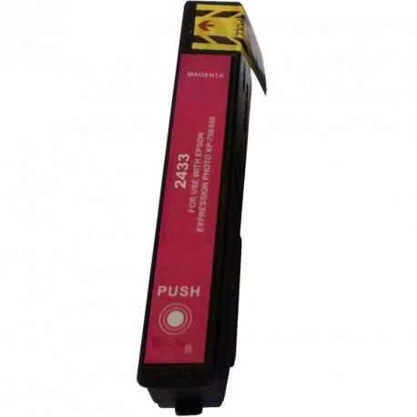 Non-OEM Magenta Ink Cartridge for EPSON T2433