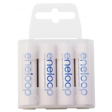 4 x Rechargeable Batteries Panasonic ENELOOP AA (2000mAH)